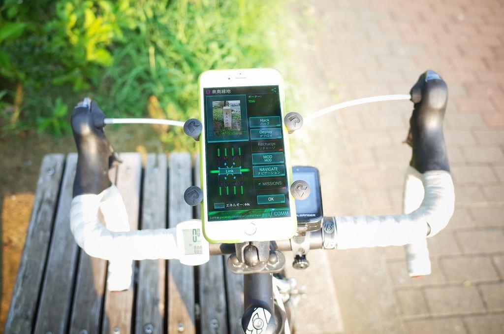 【Ingressのある生活】第1回: 自転車Ingressの世界