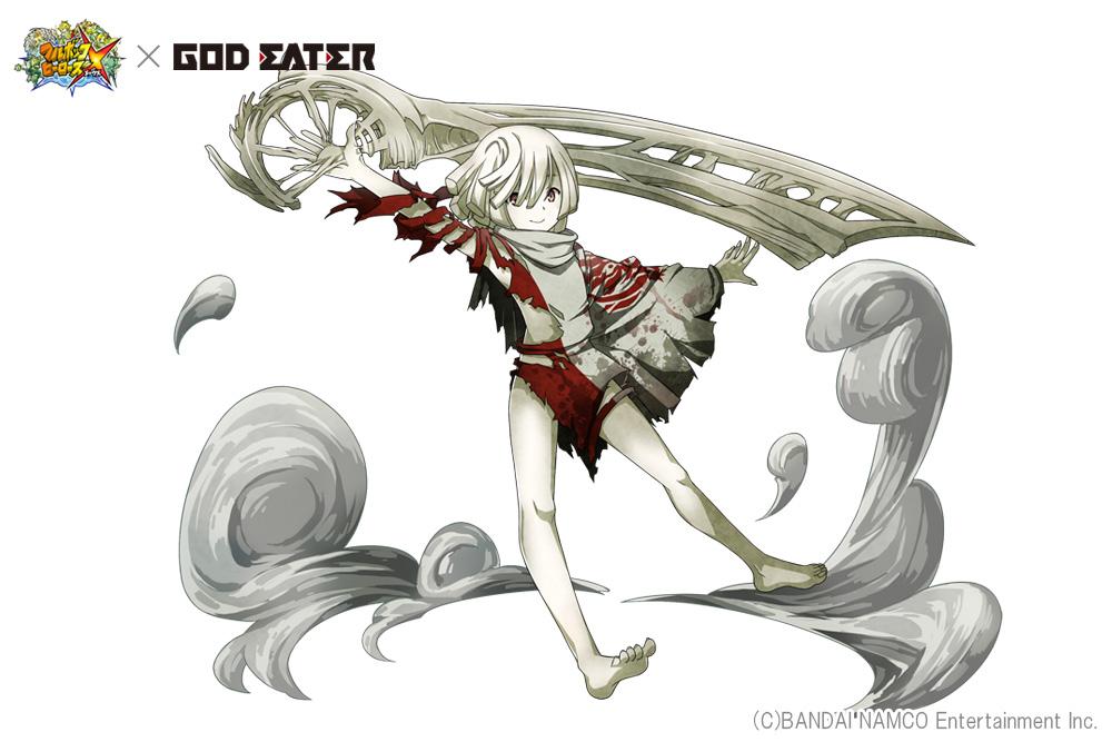 『GOD EATER』のキャラが『フルボッコヒーローズX』に登場。坂本真綾さん演じるアリサなど