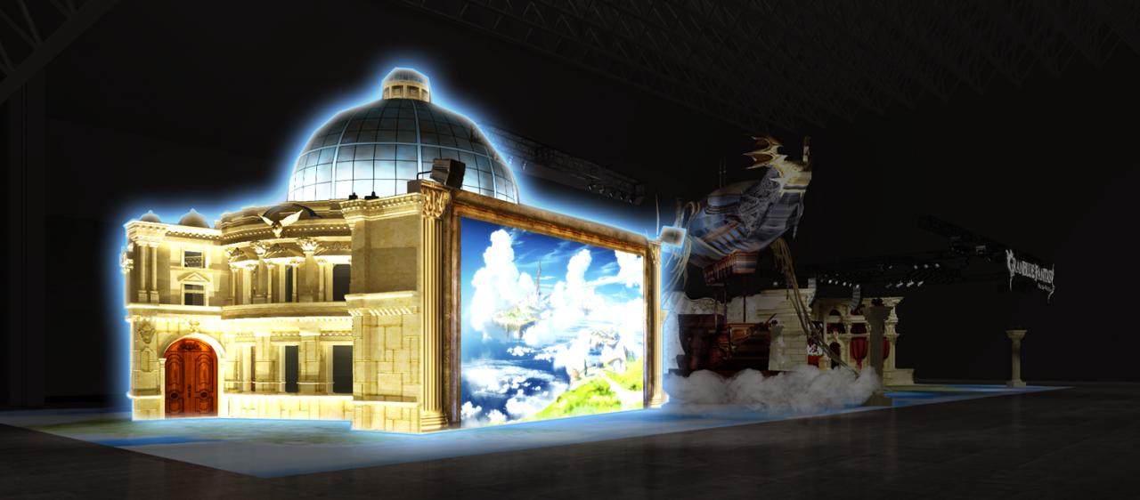 『グランブルーファンタジー』がTGSに最大規模で出展! 全長25mの「グランサイファー」も登場