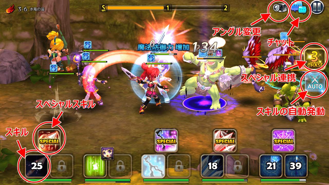 GrandChase M【ゲームレビュー】