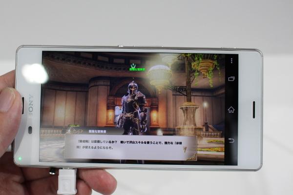 【TGS2015】アソビモブースのデカスマホで『GODGAMES』をプレイ!