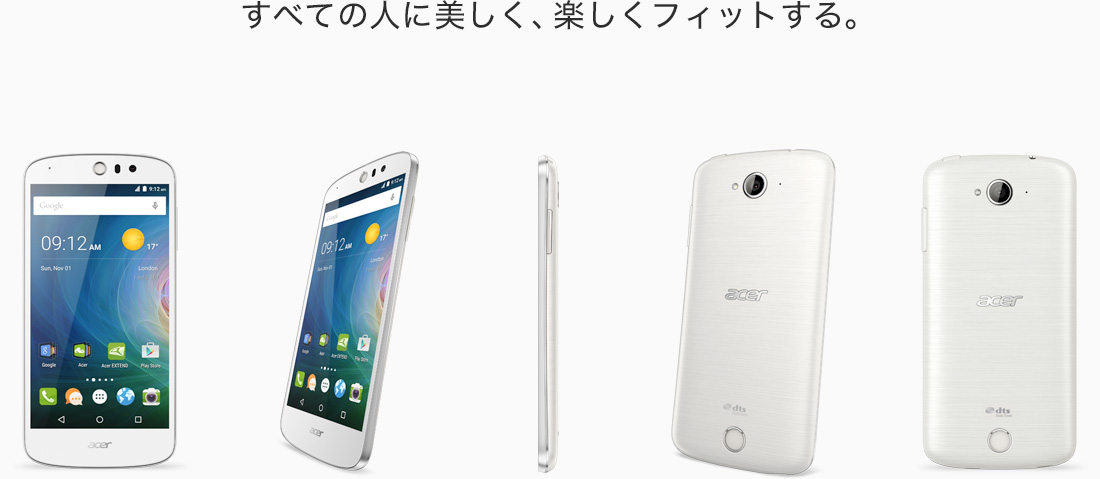 高機能カメラを搭載したスマートフォン「Acer Liquid Z530」が販売開始