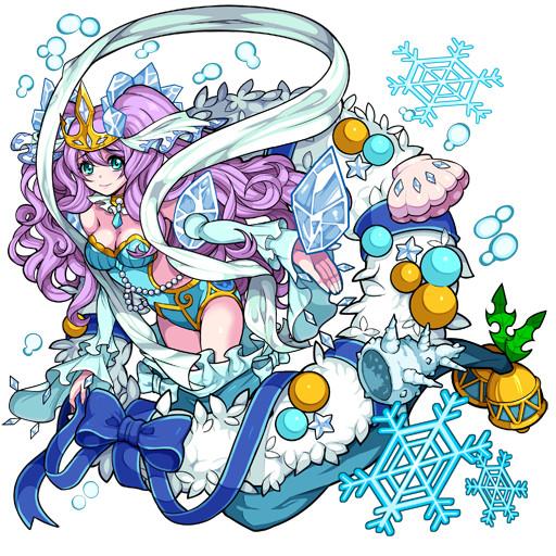 ガルズモンズ【キャラ性能・評価】氷の結晶纏う人魚姫ルリィ ...