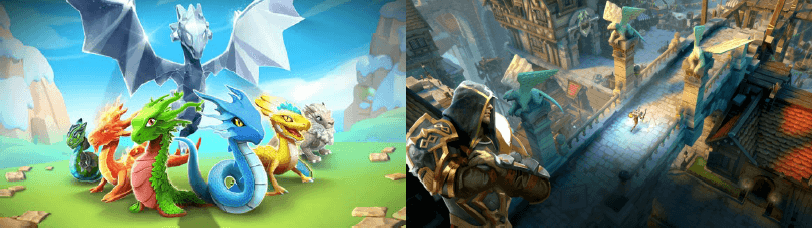ゲームロフト、『ドラゴンマニア・レジェンド』と『Dark Quest 5』をApple TV向けに配信開始