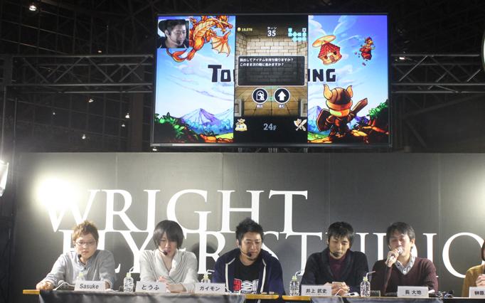 【闘会議2016】『LINE タワーライジング』の新イベント「ダークタワー」の実況プレイ!