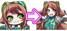 ガルズモンズ【キャラ性能・評価】乱姫戦隊サイバーグリーン