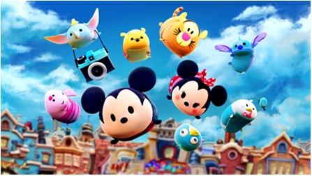 『LINE:ディズニーツムツム』が世界累計5,500万DLを突破! ぬいぐるみTSUM TSUMは2,000万個を販売