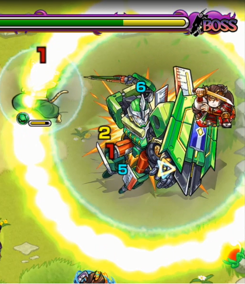 モンスト【攻略】: ペンシルベース降臨「机上を護る翠色の最終兵器」【究極】無課金攻略