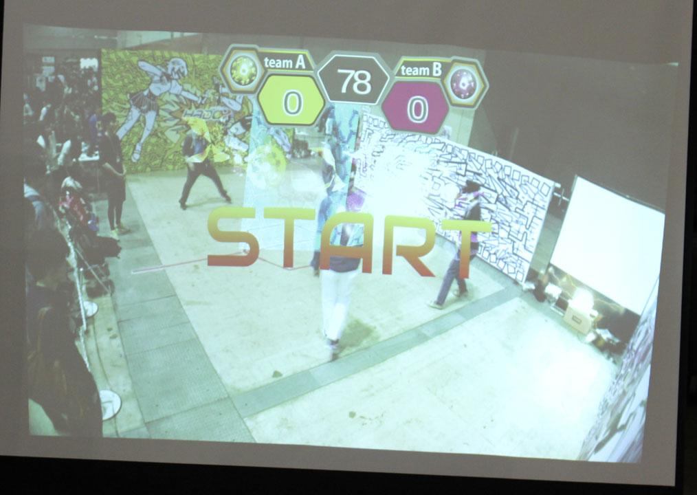 【ニコ超】ARで波動を撃ち合う新スポーツ「HADO」(超VRアトラクションズ)