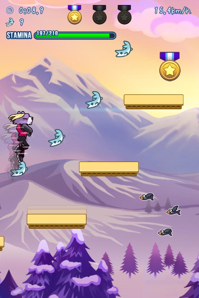 『跳べ!クマシェンコ』が配信開始! 華麗なジャンプで野山を進むエクストリーム・スケートアクション