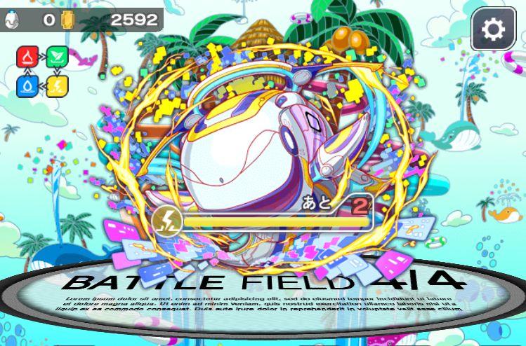 クラッシュフィーバー【攻略】: イベントクエスト「大鯨の呼び声」(Mr.ホエール)超級ノーコン攻略