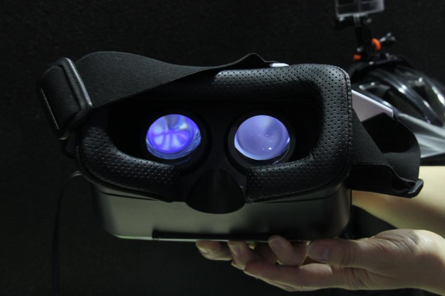 360°のアクションカメラとVRヘッドセットで異次元体験!? GIGABYTEによるデモ【COMPUTEX 2016】