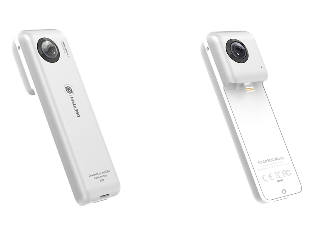 iPhoneに装着して使える超軽量の360度カメラ「Insta360 Nano」が8月中旬に発売!