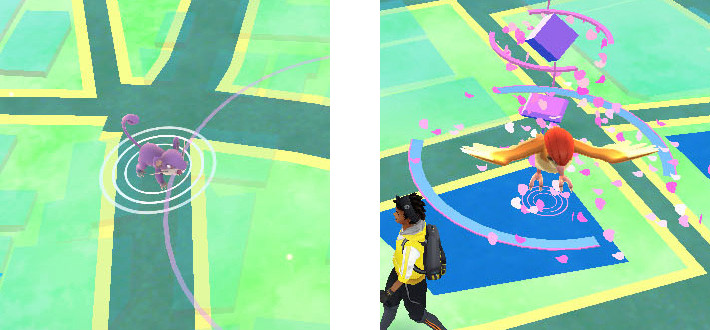 ポケモンGO【攻略】:波紋で見分けるポケモン出現の法則!レベル上げにも使える高効率スポット