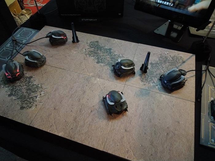 『CODE HORAIZON』をTGSでチェック! ロボット好きの筆者が気になったリアルボードゲーム【TGS2016】