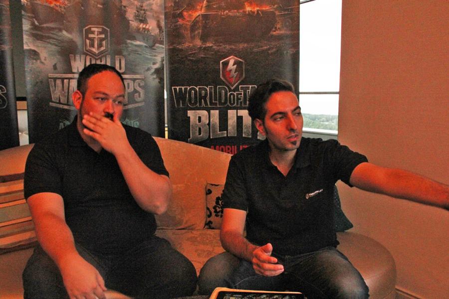 『WoT Blitz』の新たなプロデューサーに聞く! 大河原氏に続くアーティストシグネチャも続々登場!?【TGS2016】