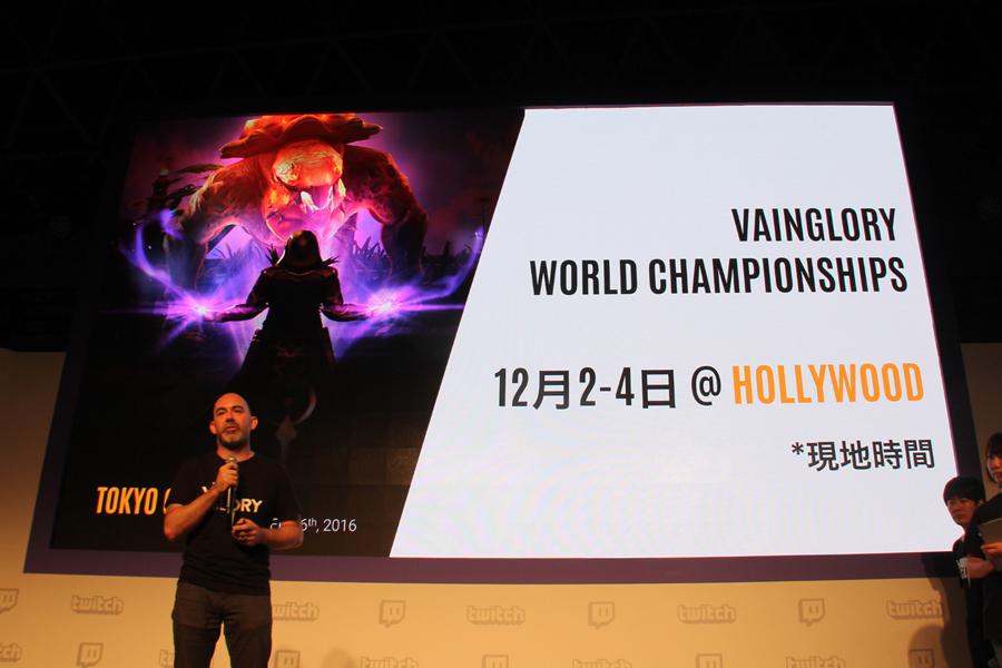 『Vainglory』の世界大会がハリウッドで開催決定! トッププレイヤーによる東西対決も【TGS2016】