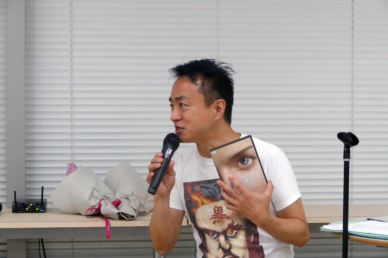 【黒川塾40】坂口博信氏の半生を振り返る:FF開発秘話から2017年新作予定まで