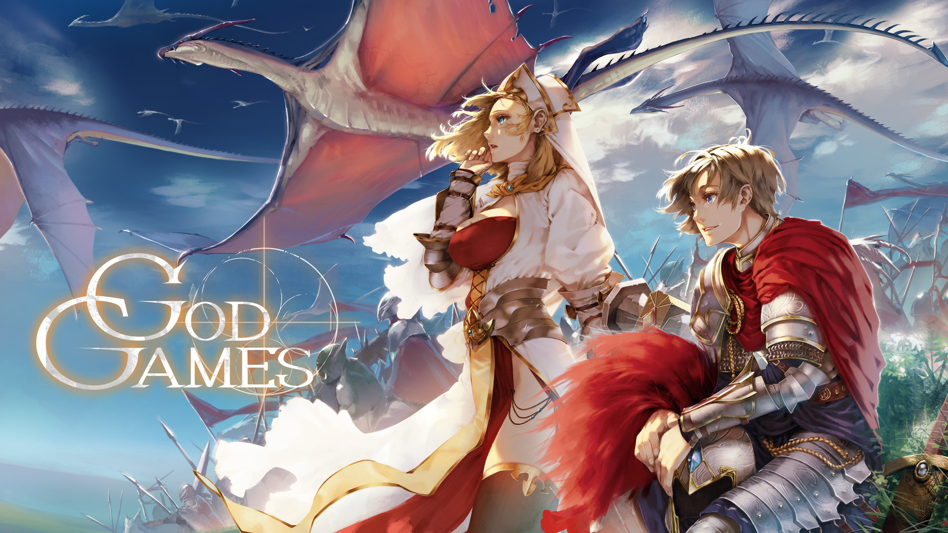 『GODGAMES』が大型アップデート! 「アーサー王シリーズ」や新ギミックが登場するマップ「山脈回廊」が登場