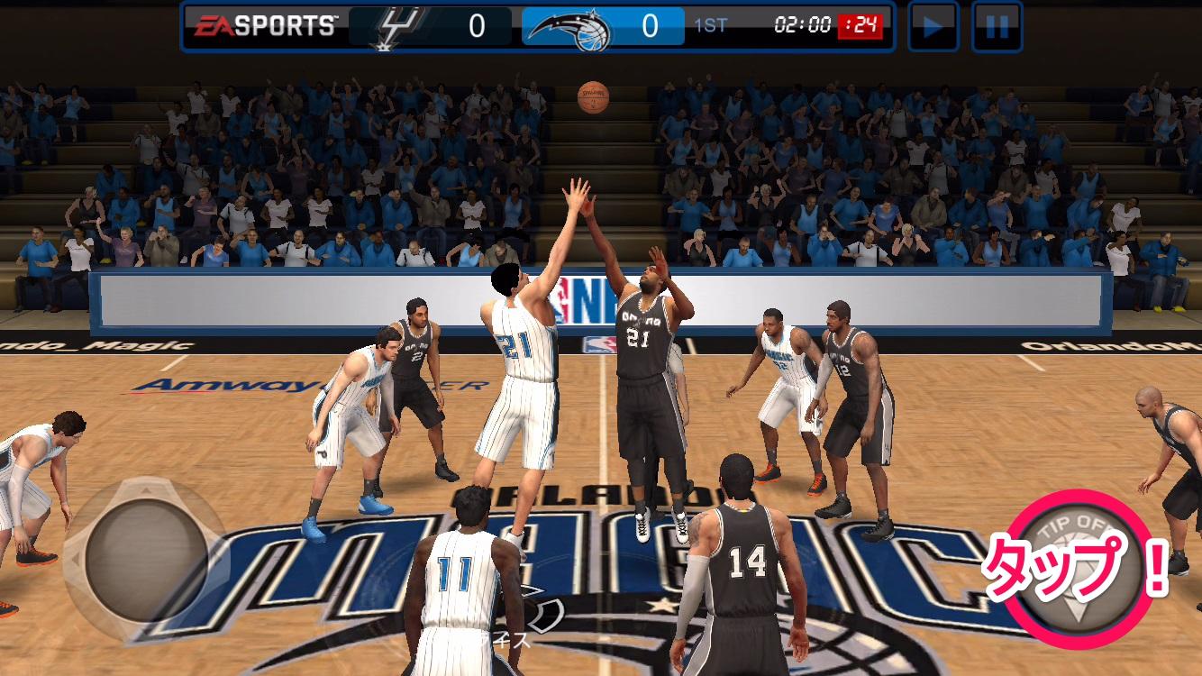 NBA LIVE Mobile バスケットボール