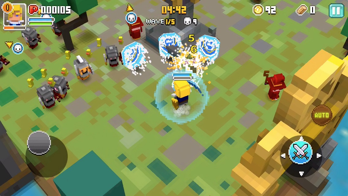Cube Knight : Battle of Camelot【ゲームレビュー】