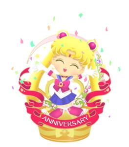 『セーラームーンドロップス』が全世界200万DL突破! 記念にプレミアムガシャチケットをプレゼント