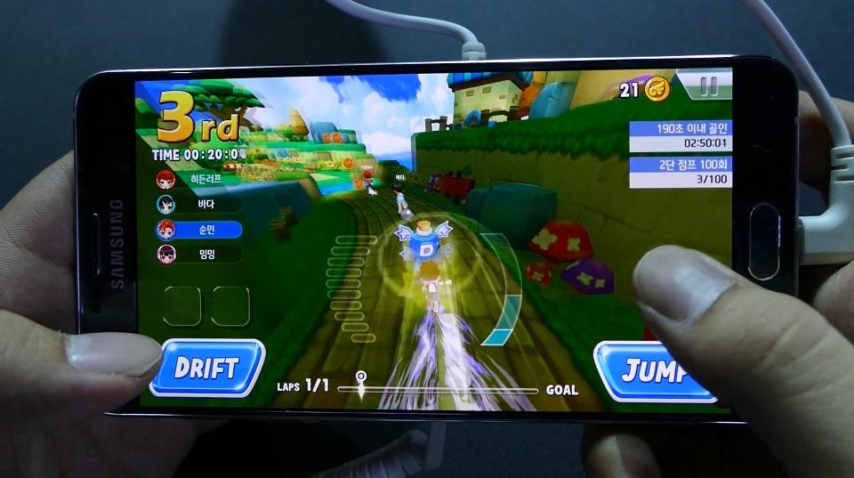 ネクソンブースで人気ランニングゲームのスマホ版『Tales Runner Revolt』を体験プレイ!【G STAR 2016】