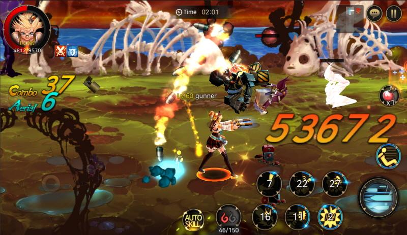 アラド戦記が3D化されてスマホに!Dungeon & Fighter: Splitプレイレポート【G STAR 2016】