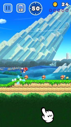 『スーパーマリオ ラン』配信開始!ついにスマホでマリオが遊べる日が来た!
