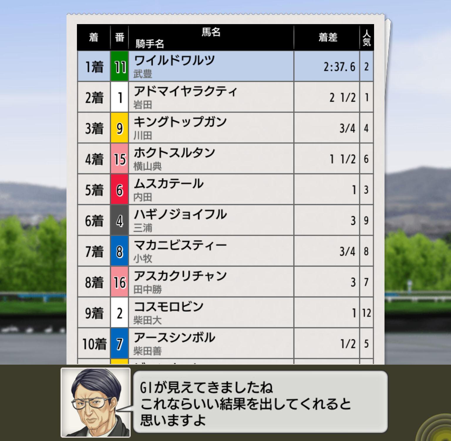 ダービースタリオン マスターズ【ストーリー5話攻略】:配合理論を覚えて産経大阪杯を勝利しよう!