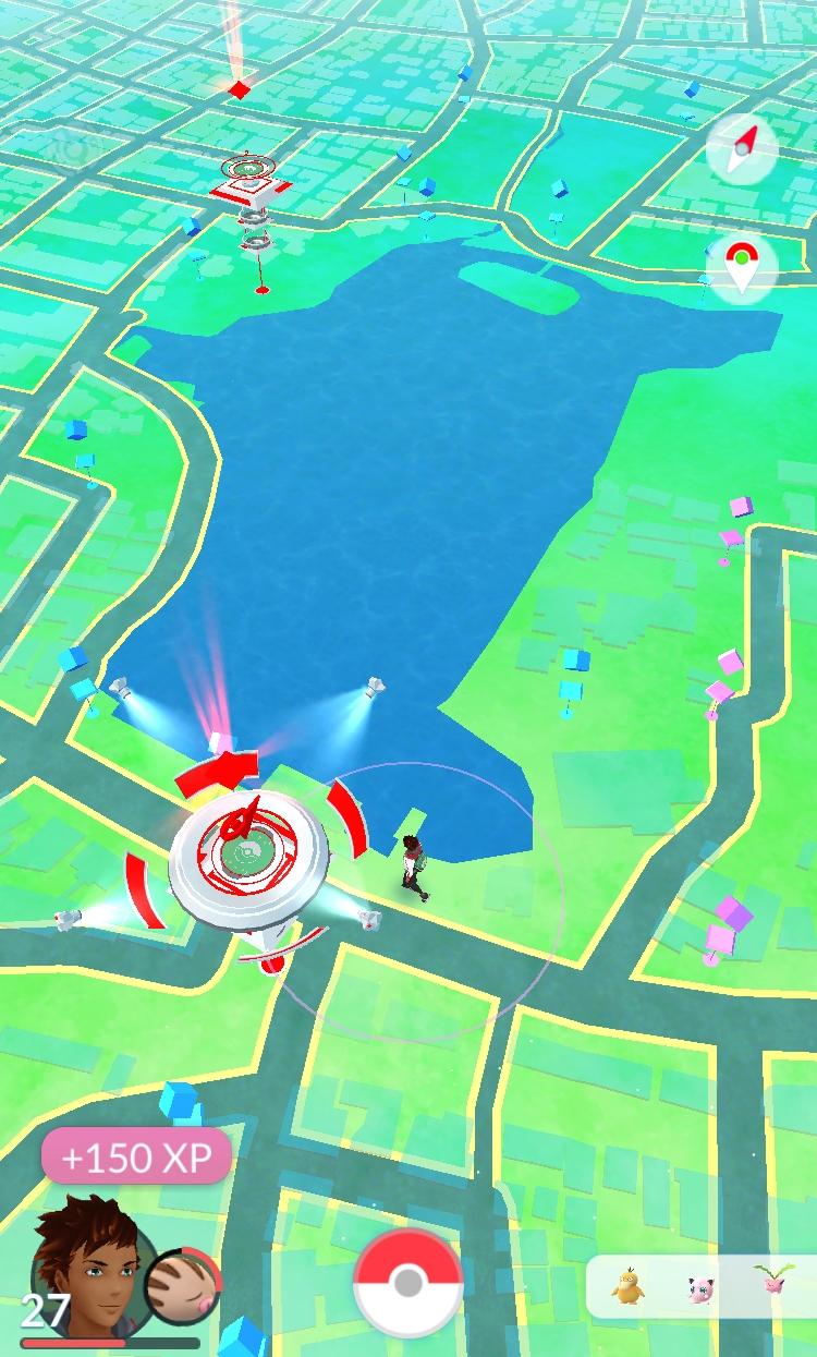 [3/9版]ポケモンGO【攻略】:   イノムーを確実にゲット!洗足池公園にウリムーが大量発生中