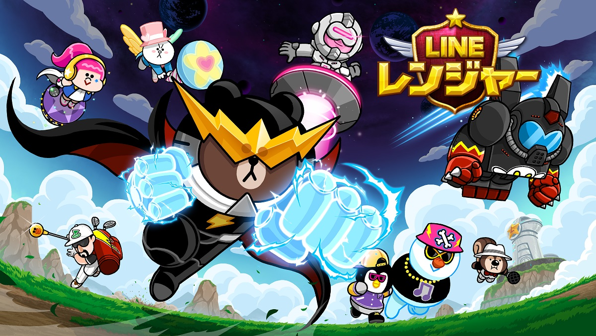 『LINE バブル2』&『LINE レンジャー』が映画『レゴ バットマン ザ・ムービー』とコラボ!
