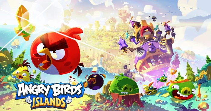 Angry Birds Islands Title