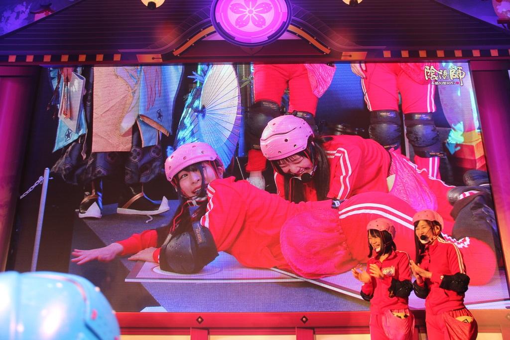 松崎しげるも熱唱!! 『陰陽師』式神カルタ大会で仮面女子メンバーが激突!