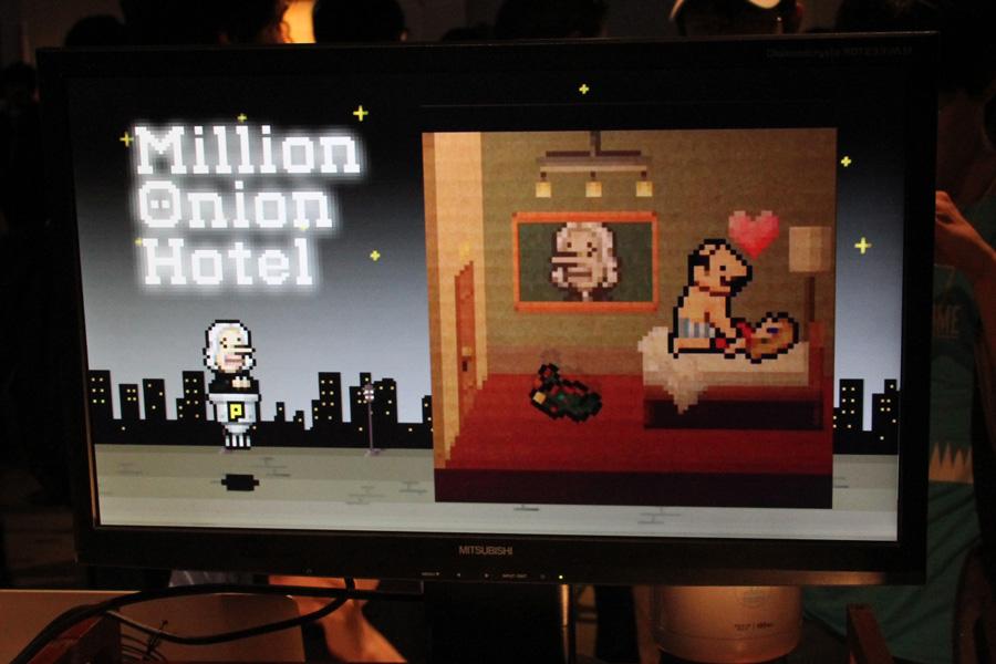 Onion Gamesの新作はパズル&ポエム!? 『Million Onion Hotel』は間もなくリリース【A 5th Of BitSummit】
