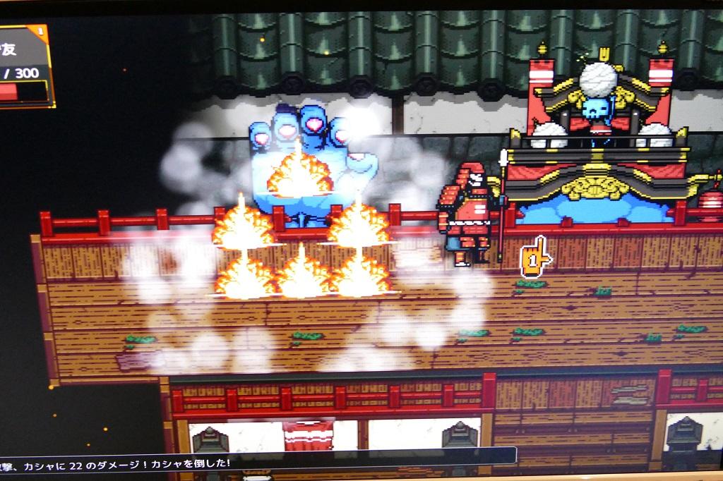 京ゆにブースではターン制ハクスラ『サムライ地獄外伝・奇天城の謎』に注目!【A 5th Of BitSummit】