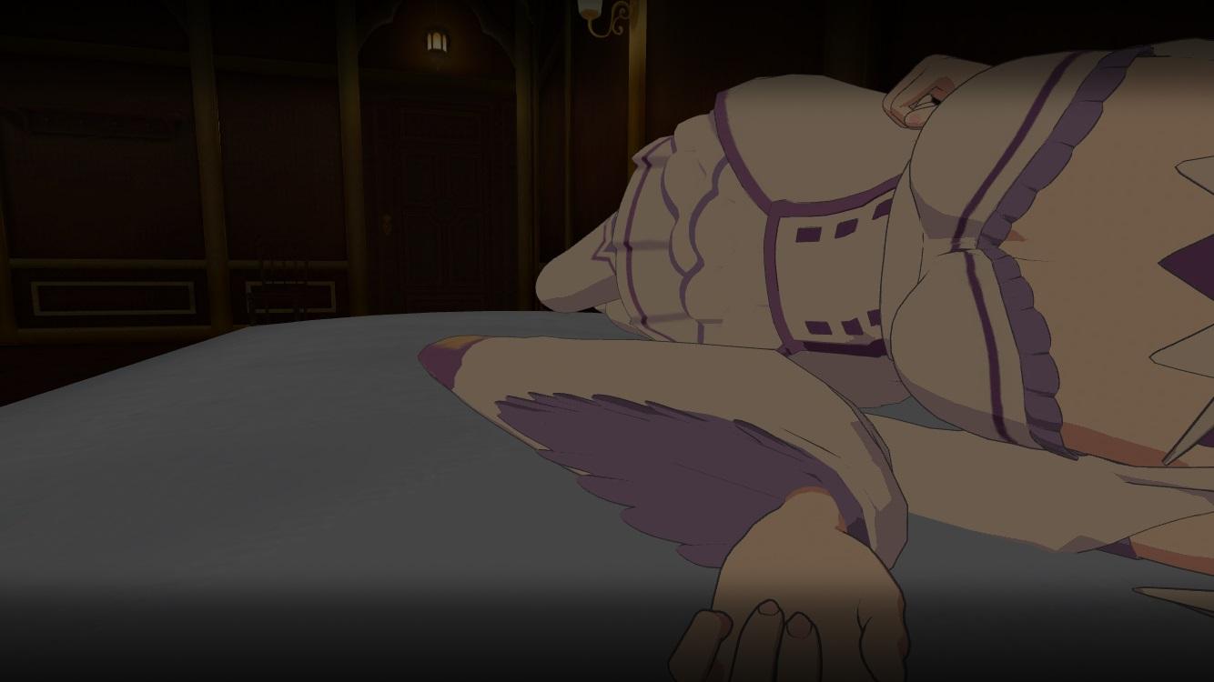 『VRでエミリアと異世界生活』で膝枕と添寝を疑似体験!【ゲームレビュー】