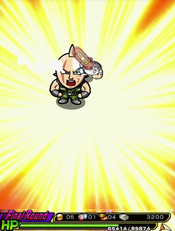 マッスルショット【攻略】: 「残虐非道な超人凶器!!」(ソルジャーマン) 攻略