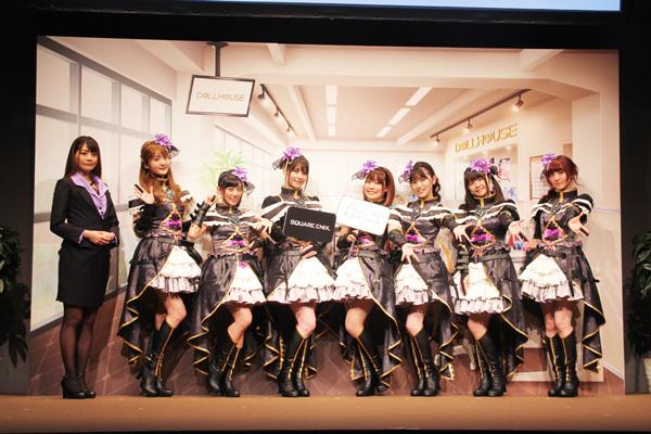 『プロジェクト東京ドールズ』の発表会に7人の豪華声優陣が集結!スクエニ新作が間もなくリリース