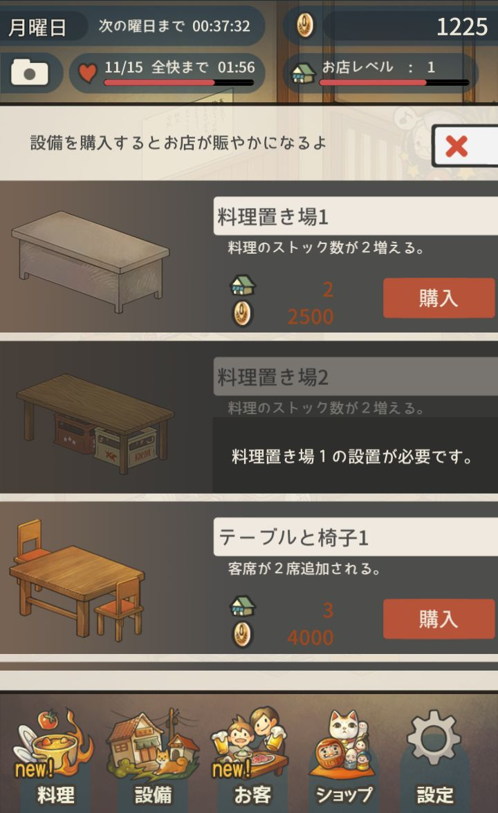 思い出の食堂物語 ~心にしみる昭和シリーズ~【ゲームレビュー】