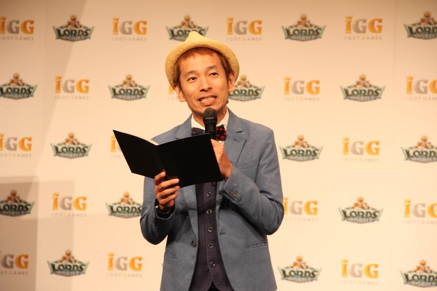 宮川大輔さんと内田理央さんが『ローモバ』の新CM発表会に登場!リツイートキャンペーンも