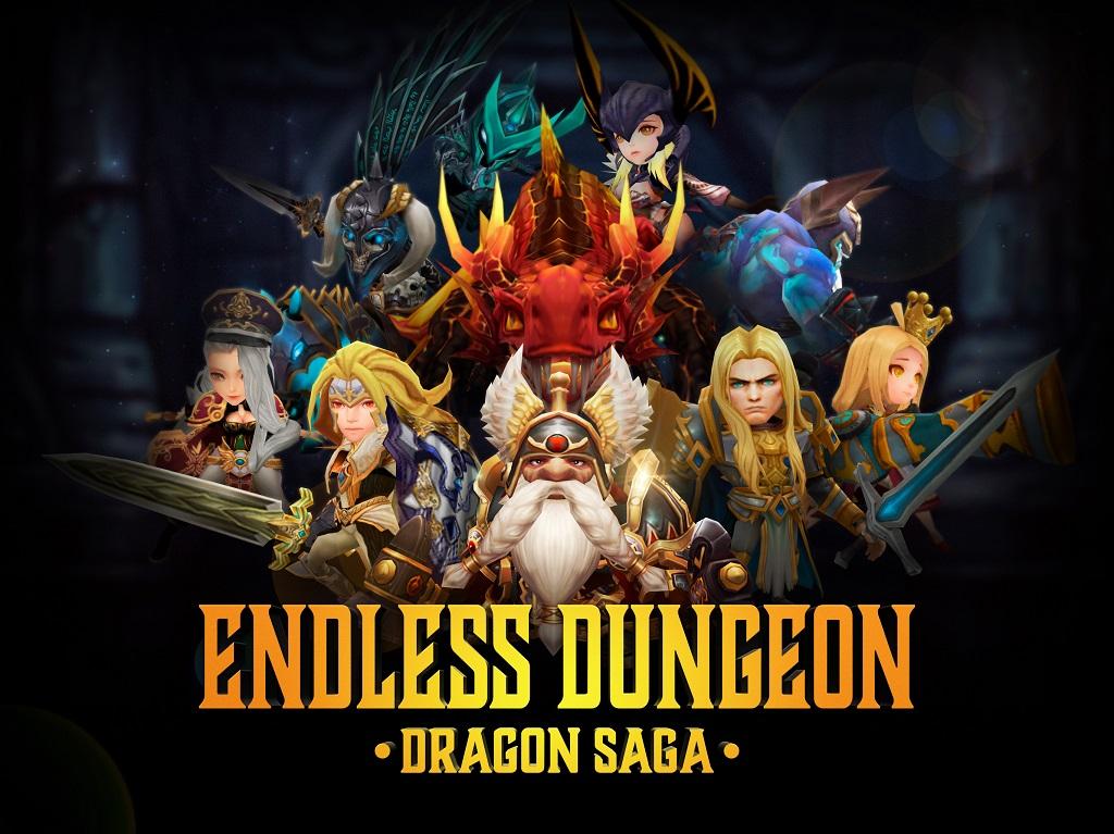 新作3DRPG『エンドレスダンジョン』が事前登録開始!