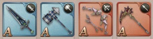 シノアリス【初心者攻略】: どの武器を装備すべき?武器ごとの特徴と各ジョブの役割