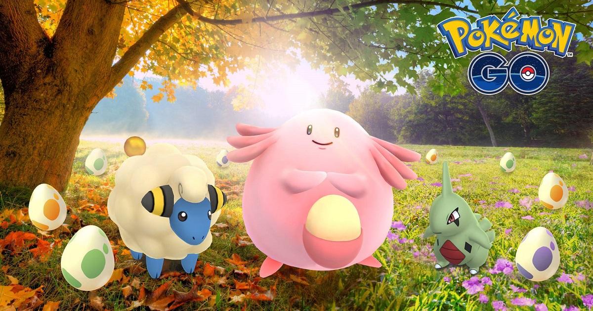 『ポケモンGO』で9月23日より秋のイベントが開催!2kmタマゴから「ヨーギラス」などが孵化