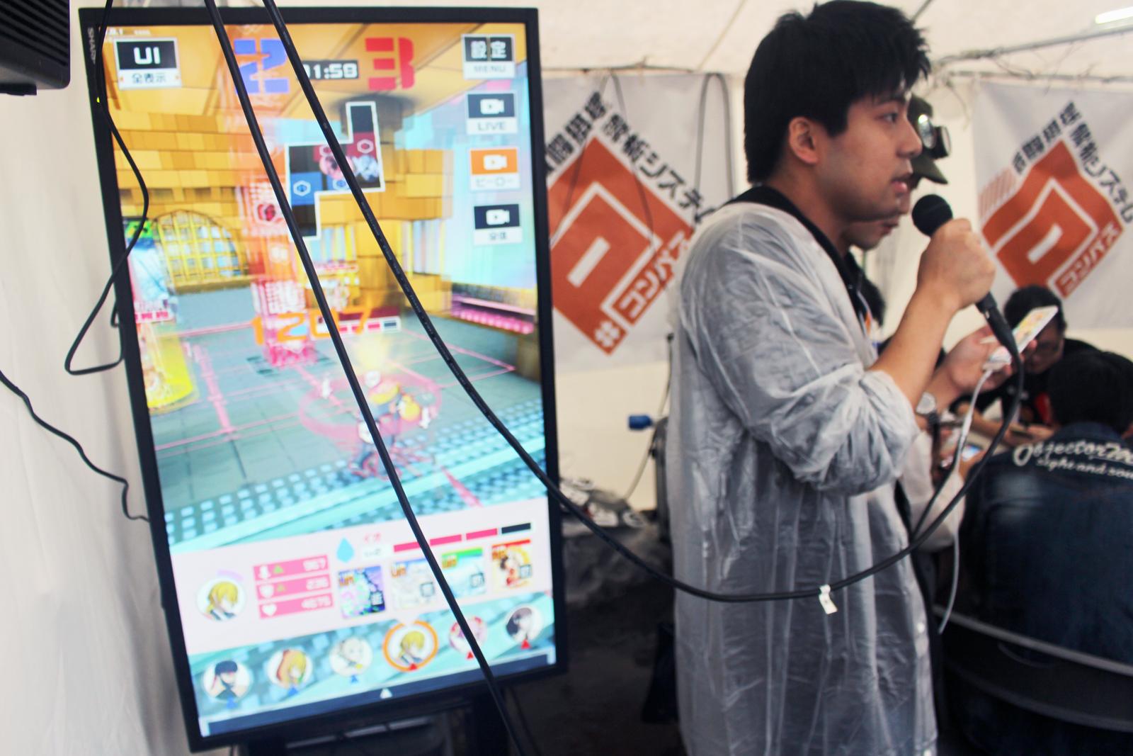 ランカー・コスプレイヤー大集合!町会議大阪『#コンパス』テントレポート
