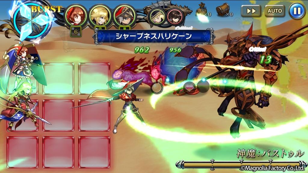 目まぐるしい陣形アクションが熱い!新作RPG『ミラーズクロッシング』先行プレイレポート