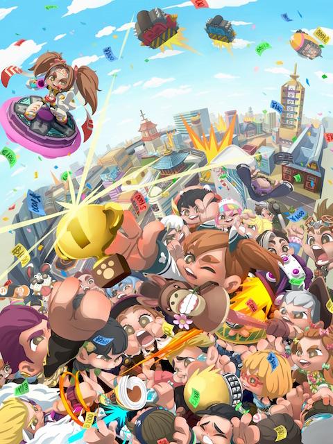 ポノス新作『ファイトクラブ』の「リリース前No.1決定戦」が4月7日に開催!生放送も決定