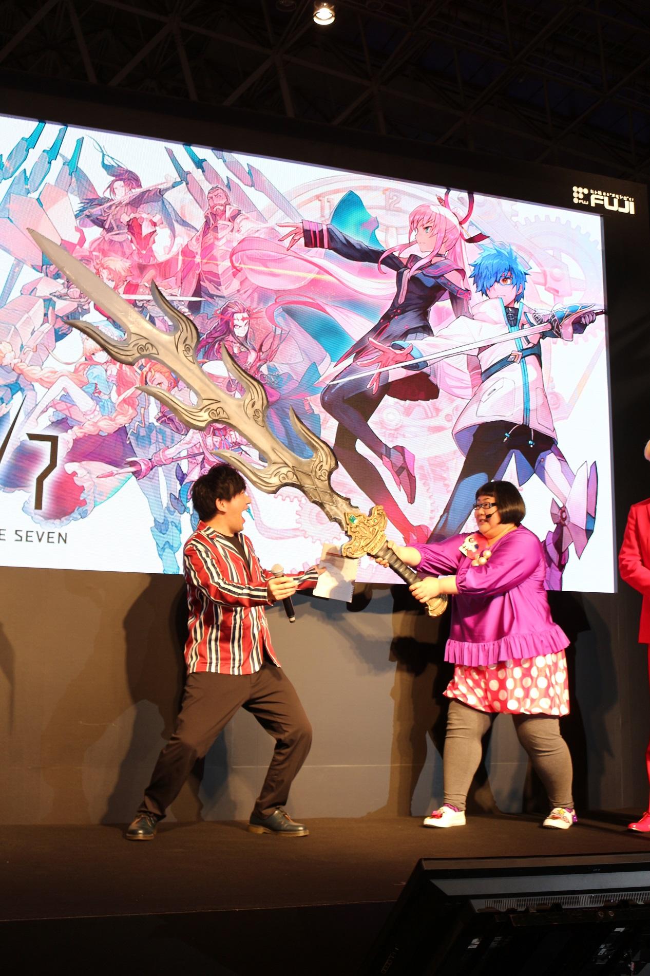 【闘会議2018】『23/7 トゥエンティ スリー セブン』スペシャルステージに「メイプル超合金」が登場!