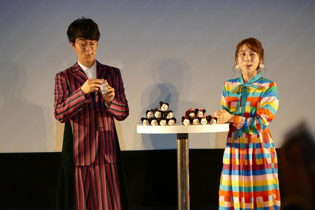 ツムツムドリームステージ@23にヒャダインと鈴木あきえが登場し新ツムを発表!