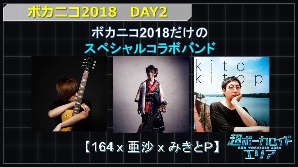 ニコニコ超会議2018に「164×亜沙×みきとP」のスペシャルコラボバンドが出演決定!